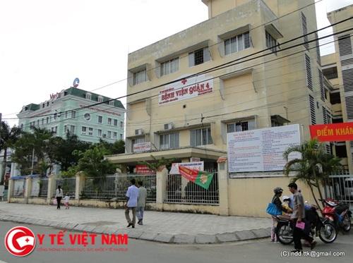 Bệnh viện Quận 4, TP.Hồ Chí Minh thông báo tuyển dụng năm 2018