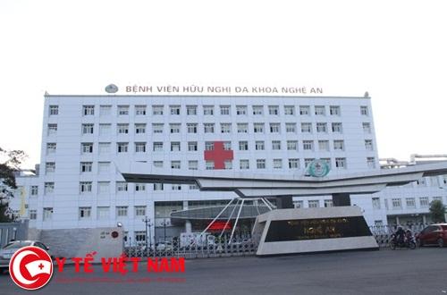 Bệnh viện Hữu nghị Đa khoa Nghệ An thông báo tuyển dụng năm 2018