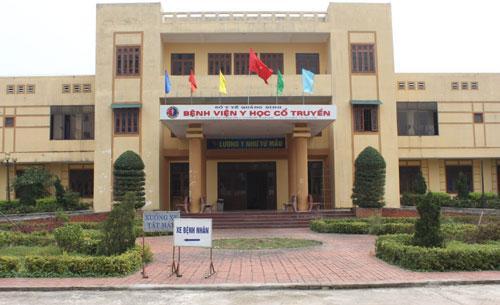 Bệnh viện Y học cổ truyền Quảng Bình xét tuyển viên chức năm 2017