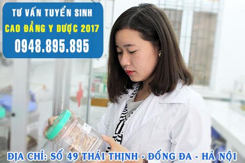 Điểm chuẩn Cao đẳng Dược Hà Nội năm 2017 cao hay thấp?