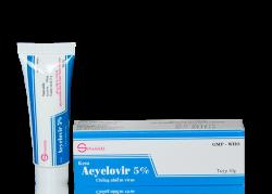 Hướng dẫn sử dụng thuốc kháng virus Acyclovir